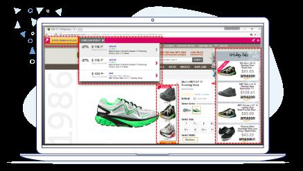 Pop-up Ads on Footwear ETC