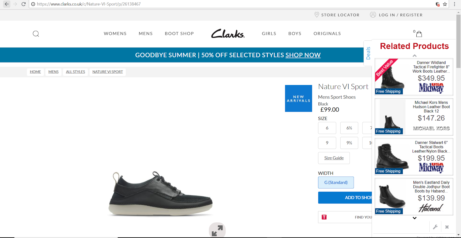 clarks browser adware