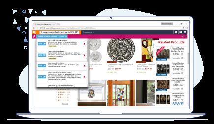 kirklands browser injected ads